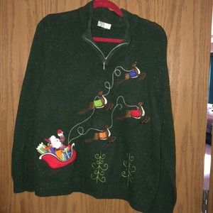 Size large Christmas sweater